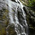 North Carolina Waterfall Hickory Nut Falls Photography  by Gray  Artus
