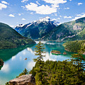 North Cascades by Niels Nielsen