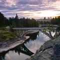 North Channel Bridge by Idaho Scenic Images Linda Lantzy