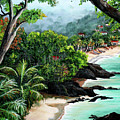 North Coast Tobago by Karin  Dawn Kelshall- Best