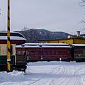 North Conway Nh Scenic Railroad by Toby McGuire