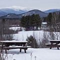 North Conway Winter Mountains by Toby McGuire