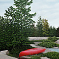 North Country Canoe by Kenneth M  Kirsch
