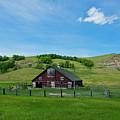 North Dakota Barn by David Arment