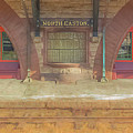 North Easton Train Station At Solstice by Bill McEntee