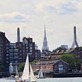 North End  Of Boston  by Lennie Malvone
