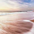 North End Virginia Beach Sunrise Seascape by Lisa McStamp