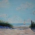 North Forest Beach by Stanton Allaben