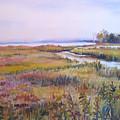 North Fork Marsh by Joyce Kanyuk