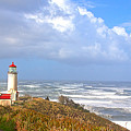 North Head Lighthouse by Larry Keahey