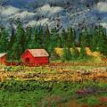 North Idaho Farm by David Patterson