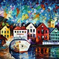 North Mood by Leonid Afremov