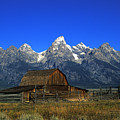 North Moulton Barn Grand Tetons by Gary Langley