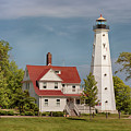 North Point Lighthouse 2 by Susan Rissi Tregoning
