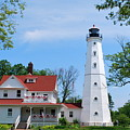North Point Lighthouse by Anella Harmeyer