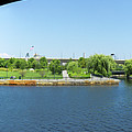 North Point Park And Zakim Bridge, Boston Ma #30966-75 by John Bald