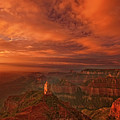 North Rim Storm Clouds Grand Canyon National Park Arizona by Dave Welling