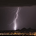 North Scottsdale Lightning Monsoon by James BO  Insogna