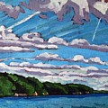 North Shore Stratocumulus Streets by Phil Chadwick