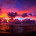 North Shore Sunset  by John Simon