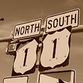 North South 1 by Rob Hans