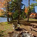 North Woods Lake Three by Sara Schroeder