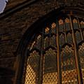 Northampton Church At Dusk by Julia Raddatz
