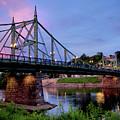 Northampton Street Bridge At Sunset by Mark Miller