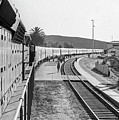 Northbound Amtrak Coast Starlight, Early Days, San Luis Obispo, California by Frank DiMarco