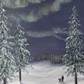 Northern Lights 2  by J O Huppler