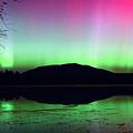 Northern Lights - Mount Katahdin by Dale J Martin