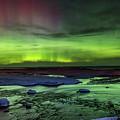 Northern Lights Pendells Creek -7824 by Norris Seward