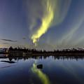 Northern Lights Thingvellir by Gunnar Orn Arnason