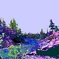Northern Ontario River by Ian  MacDonald