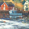 Northwest Cove, Nova Scotia by Beverly Hubley
