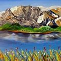Northwest Mountain Scene by Valerie Josi