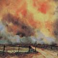 Northwest Oklahoma Wildfire by Sam Sidders