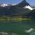 Norway, Briksdal Glacier At Jostedal by Keenpress