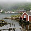 Norway, Fishing Village by Keenpress