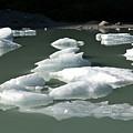 Norway, Iceberg Floating On Water by Keenpress