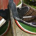 Norway, Reine, Boat In Fishing Village by Keenpress