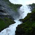 Norwegian Waterfall by Dawn Heimer