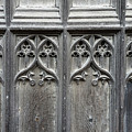 Norwich Cathedral Door by Julian Perry