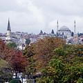 Nostalgia Of The Autumn In Istanbul by Inna Nedzelskaia