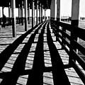 Nostalgic Walk On The Pier by Carol F Austin