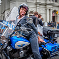 Not-a-cop In Jackson Square Nola by Kathleen K Parker