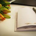 Notebook And Pen by Matt De Moraes