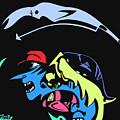 Notorious B.i.g. Full Color by Kamoni Khem