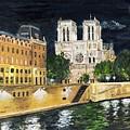 Notre Dame by Bruce Schmalfuss