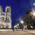 Notre Dame Cathedral Paris 2 by Alex Art and Photo